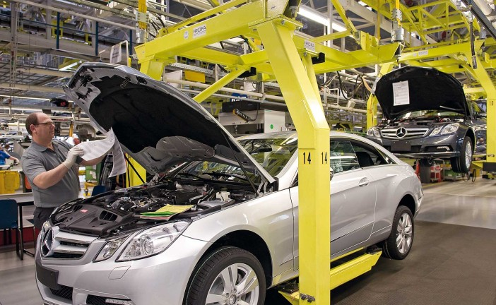 Daimler AG Mercedes-Benz Werk Bremen: Over six million cars with the star made in Bremen