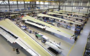 The Airbus plant in Bremen delivers fully equipped wings and landing flaps/pitch elevator systems for final assembly to the Airbus facilities in Toulouse and Hamburg.