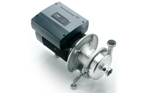 Grundfos Hilge Euro-Hygia with  speed-controlled motor as energy- efficient solution for many applications.