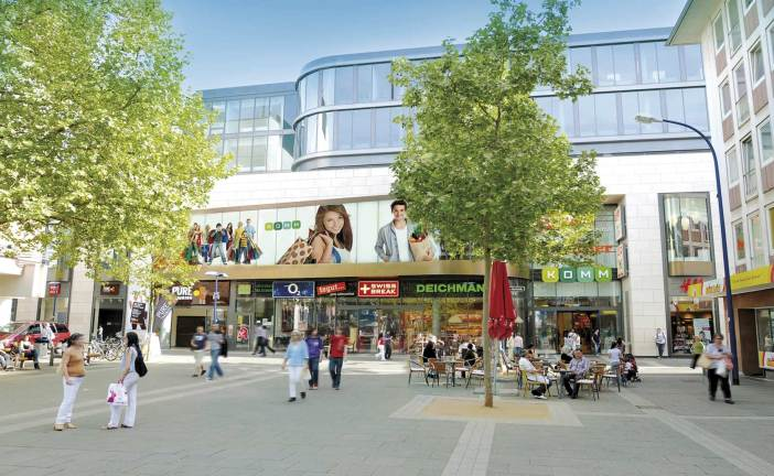 Helmut Koprian: 16,000 m² of Retail Space Revitalises Inner-City