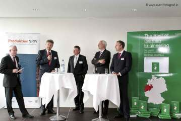 Wolf D. Meier-Scheuven: Mechanical engineering cluster in NRW strengthens location