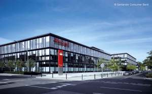 The German head office of Santander Consumer Bank AG.