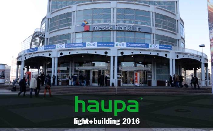 HAUPA at the Light + Building 2016