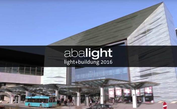 Abalight at the Light + Building 2016