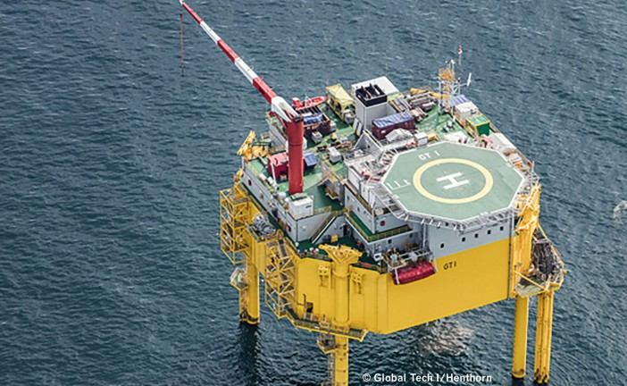 Hendrik Steindam: Global Tech I –  A North Sea wind farm controlled from Hamburg's HafenCity