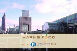 Harms Food auf der Food Ingredients Europe 2017