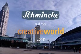 Schmincke Artist Colours at the Creativeworld 2018
