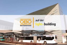 OBO Bettermann auf der Light+Building 2018